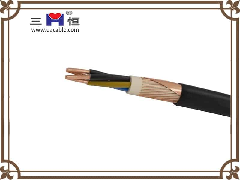 4-core round swa cable