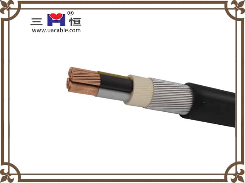 4-core extruded swa cable