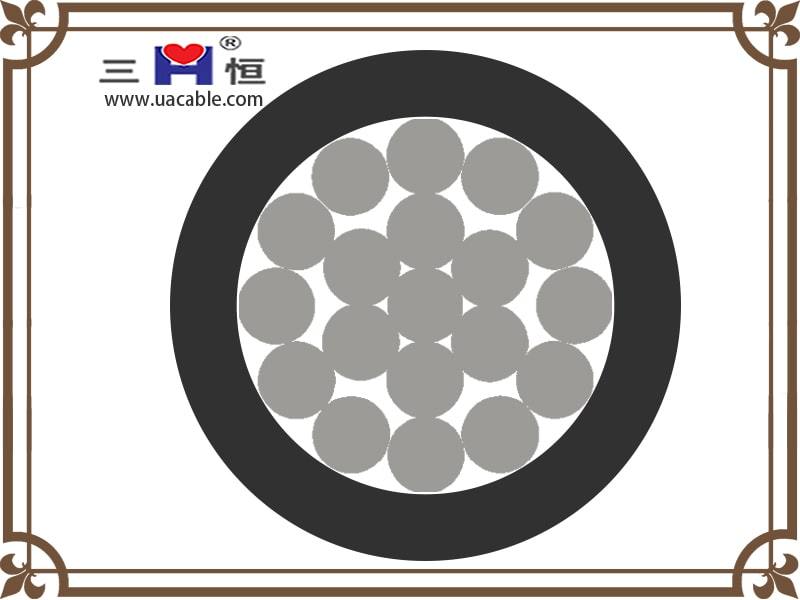 Aluminum PVC Insulated Cable structure