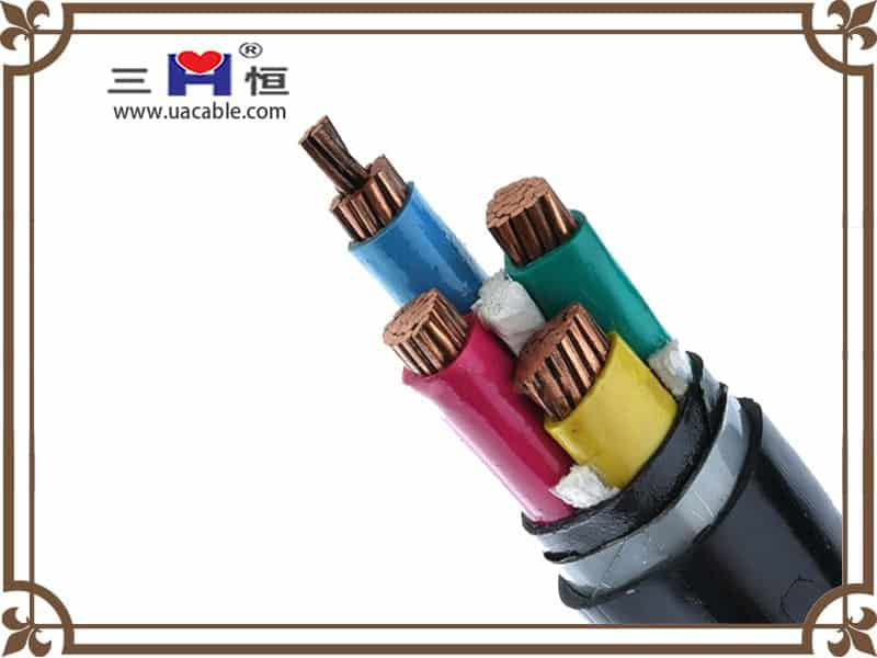 4 core steel tape armored cable