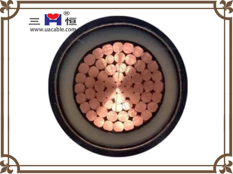 Single core steel armored cable