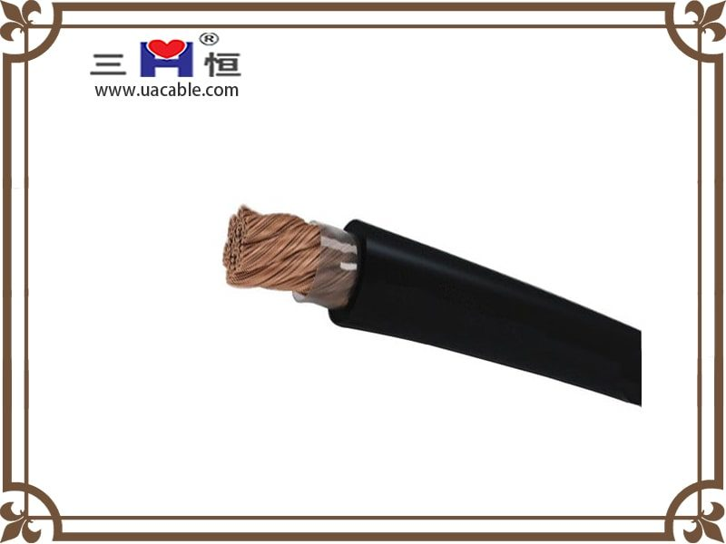 Copper cored welding cable