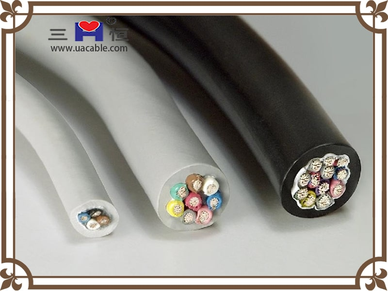 Unshielded control cable