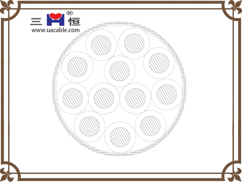 Transparent Shielding Control Cable structure