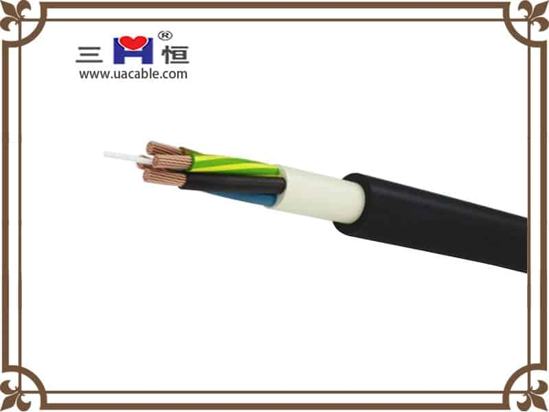 4 core Rubber Sheathed Cable image