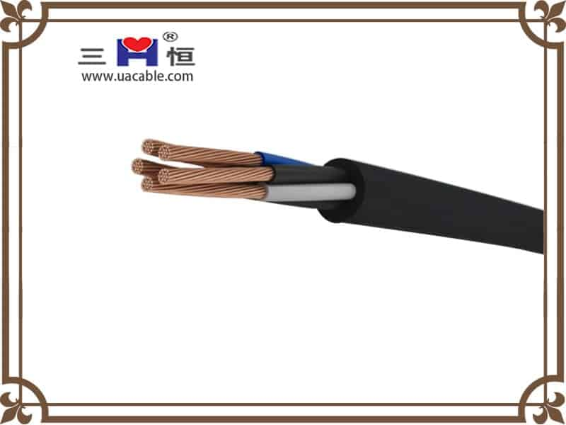 5 core Rubber Sheathed Cable